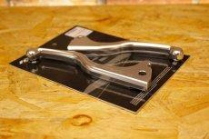 画像3: HYPER DESIGN CNCショートブレーキレバー [1〜3型シグナスX](ブラック/シルバー) (3)