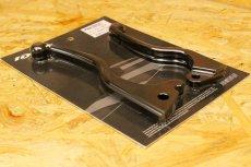 画像5: HYPER DESIGN CNCショートブレーキレバー [1型BW'S](ブラック/シルバー) (5)