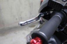 画像8: HYPER DESIGN CNCショートブレーキレバー [4・5型シグナスX 2型BW'S](ブラック/シルバー) (8)