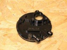 画像1: GARUDA オイル取り出しパネル ブラック [シグナスX・BW'S125] (1)