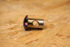 画像3: PK7 リアブレーキアームピン チタン 焼き色 [1.2.3型シグナスX・1型BW'S125] (3)