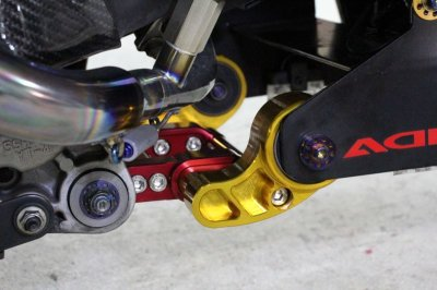 画像1: HYPER DESIGN カラーオーダー エンジンハンガー(標準長/1cmロング) [シグナスX・BW'S125]