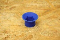 画像2: KOSO 高性能汎用プラグキャップ 60度 抵抗入り10kΩ ブルー [シグナスX・BWS125] (2)