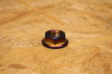 画像4: PK7 クラッチアウターナット ステン 焼き色 1個 [シグナスX・BW'S125] (4)