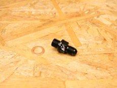 画像1: GARUDA ストレートバンジョーボルト ブラック(ピッチ1.25mm/1.0mm) (1)