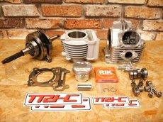 画像2: TRHC×Partyup 59Plus/63Plus/66Plusボアアップキット [シグナスX・BW'S125] (168cc/191cc/210cc) (2)