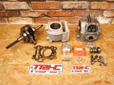 画像3: TRHC×Partyup 59Plus/63Plus/66Plusボアアップキット [シグナスX・BW'S125] (168cc/191cc/210cc) (3)