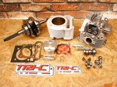 画像1: TRHC×Partyup 59Plus/63Plus/66Plusボアアップキット [シグナスX・BW'S125] (168cc/191cc/210cc) (1)