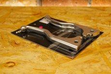 画像5: HYPER DESIGN CNCショートブレーキレバー [4・5型シグナスX 2型BW'S](ブラック/シルバー) (5)