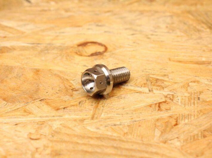 画像1: PK7 チタン ギアオイルドレンボルト マグネット付き 無色 (1)